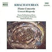 Khachaturian: Piano Concert; Concert Rhapsody (1997) Specially Treated Cd