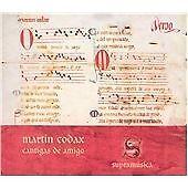 MARTIN-CODAX-CANTIGAS-DE-AMIGO-NEW-CD