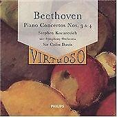 Beethoven: Piano Concertos Nos 3 & 4, Kovacevich, Very Good