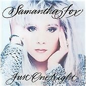 FOX, SAMANTHA - JUST ONE NIGHT NEW CD