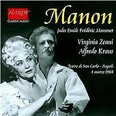 Jules Emile Frédéric Massenet: Manon (Teatro di San Carlo Napoli, 1964, 2014)