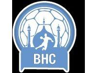 Joing the U18 team of Brighton Handball Club