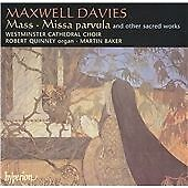Mass, Missa Parvula and Other Sacred Works (Baker) CD NEW