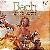 BACH-SECULAR-CANTATAS-BACH-JOHANN-S-8-DISCS-NEW-CD