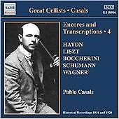 Encores and Transcriptions 4 (Casals) CD NEW
