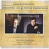 Johannes Brahms - Brahms: Music for 2 Pianos (CD 2005) DSD US Import