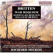 War Requiem, Ballad of Heroes (Hickox, Lso) CD NEW
