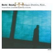 BOULEZ BERIO WEBERN: DIALOGUE NEW & SEALED