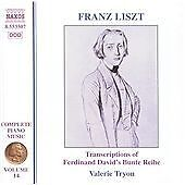 Liszt  Complete Piano Music Volume 14 Transcriptions of David039s Bunte Reihe - <span itemprop='availableAtOrFrom'>East Kilbride, Glasgow (City of), United Kingdom</span> - Liszt  Complete Piano Music Volume 14 Transcriptions of David039s Bunte Reihe - East Kilbride, Glasgow (City of), United Kingdom