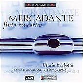 Flute Concertos (Parisi, I Solisti Aquilani, Carbotta) CD NEW