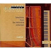 Great Pianists Of The 20th Century, Sampler, , Good