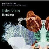 Jamie Phillips Helen Grime: Night Songs CD ***NEW***