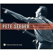 SEEGER, PETE - COMPLETE BOWDOIN COLLEGE NEW CD