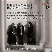 Gould Piano Trio Beethoven:Piano Trios Vol. 4 [Gould Pian CD ***NEW***