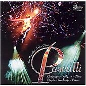 Pasculli - Works for Oboe and Piano, Christopher Redgate, Very Good CD