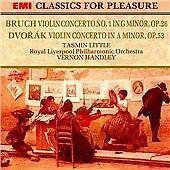 EMI Classics For Pleasure Dvorak And Bruch Violin Concertos Tasmin Little