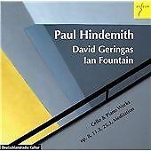 Geringas,David - Hindemith:Werke für Violoncello und Klavier - CD