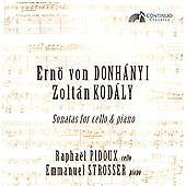 Emmanuel Strosser Sonatas For Cello & Piano [Raphaël Pidou CD ***NEW***