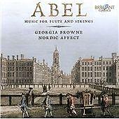 Abel: Music for flute & strings, Georgia Browne, Very Good CD