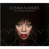 Donna Summer Love To Love You Donna CD ***NEW***