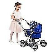 Dimples Ava Pram & La Newborn Gift Set Boy Baby Doll. Brand new. Boxed.