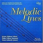 Bush; Dring; Lalliet; Poulenc; Stoker; Thompson: Melodic Lines - Oboe, Bassoon &