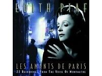 Edith Piaf Les Amants de Paris CD