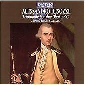 Alessandro Besozzi: Triosonate Per Due Oboi E B.c. CD NEW