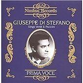 Giuseppe Di Stefano Sings Verdi and Puccini CD NEW