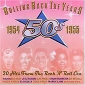 Rolling Back The Years 1954-1955, Various Artists, Very Good CD