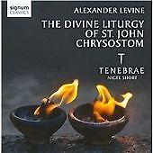 Tenebrae Alexander Levine: The Divine Liturgy of CD ***NEW***