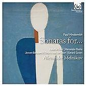 Alexander Melnikov Paul Hindemith: Sonatas For...  CD NEW