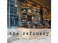 Waiter/ Waitress position available at The Refinery @ Regent's Place - start immediately!