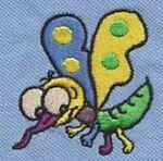 Moskito Stickerei