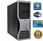 48GB Ram Intel Xeon Hex Six Core Dell Precision T7500 1 TB Hard