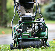 LAWN AERATING, FERTILZING, SEEDING ONLY $95