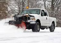 SNOW PLOWING & SNOW BLOWING