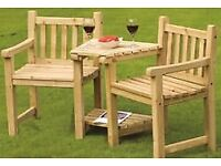 Heavy duty redwood garden furniture for sale *ex demo stock also available on request*