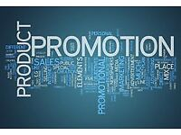 Sales Assistant Required x1 Product Promoter x3