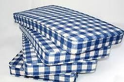 Brand New comfy Single Blue Mattress Free Delivery afew available