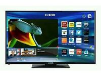 "Luxor 43"" LED smart tv wifi built USB MEDIA PLAYER HD FREEVIEW full hd 1080p ."