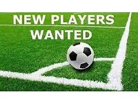 Football players wanted