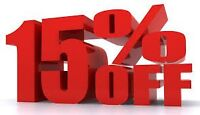 SPRAY FOAM INSULATION (Sale on now)15% off