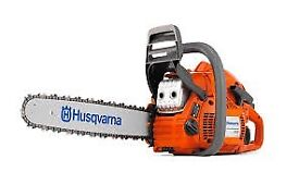 Husqvarna 445 45cc 18 inch chainsaw FREE TROUSERS/GLOVES/HELMET