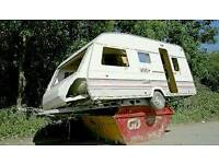 Wanted old caravans moved for free