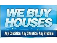 We Buy any property, land, commercial building CASH!!!