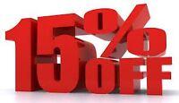 SPRAY FOAM INSULATION (Sale on now)15% off