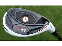 TAYLOR MADE R15 21 DEGREE HYBRID MINT CONDITION