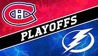 ROUGE A PREMIUM GAME 1 - LIGHTNING @ CANADIENS - AMAZING TICKETS Laval / North Shore Greater Montréal Preview