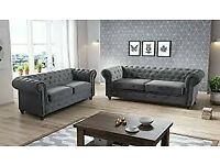 ❤💓BEST🖤 QUALITY CHESTERFIELD SOFA 3+2 SEATER SOFA, WITH FREE DELIVERY
